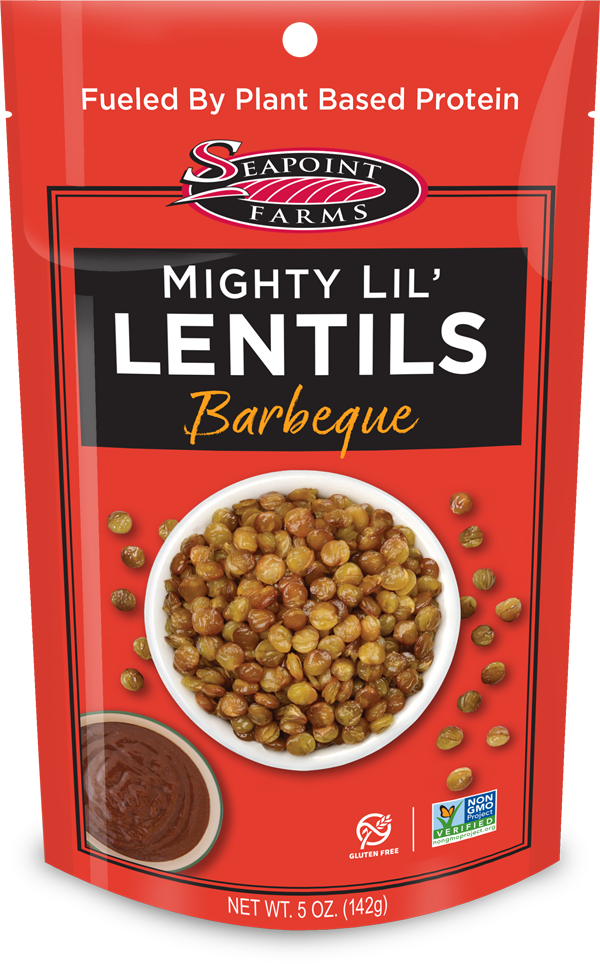 Barbeque Flavored Lentils