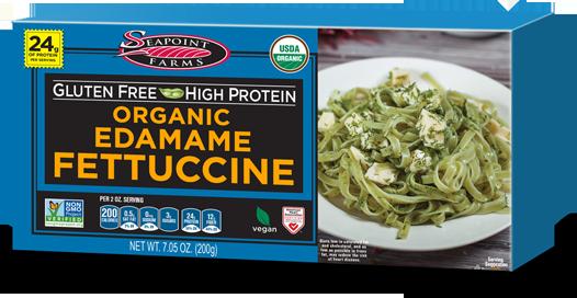 Organic Gluten Free Edamame Fettuccine