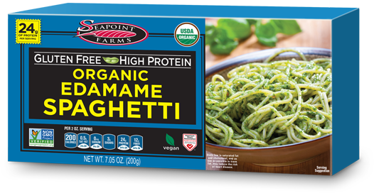 Organic Gluten Free Edamame Spaghetti