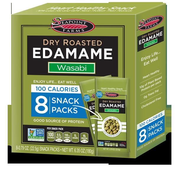 Dry Roasted Edamame Wasabi