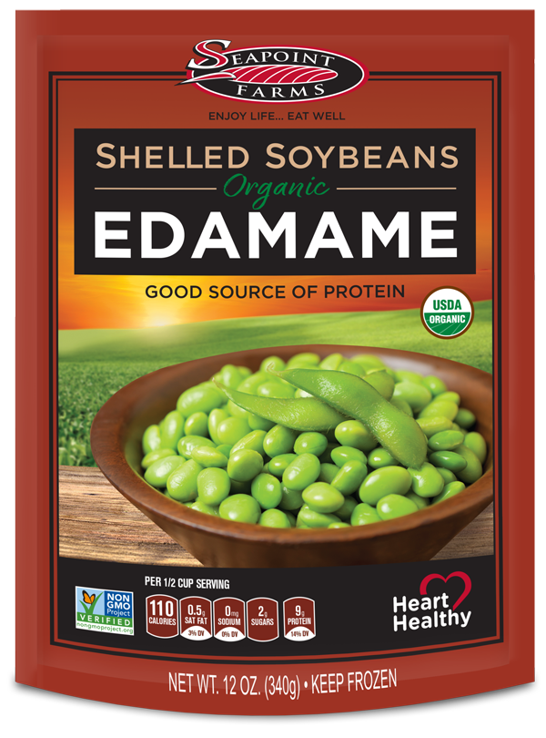 Organic<br> Shelled Soybeans
