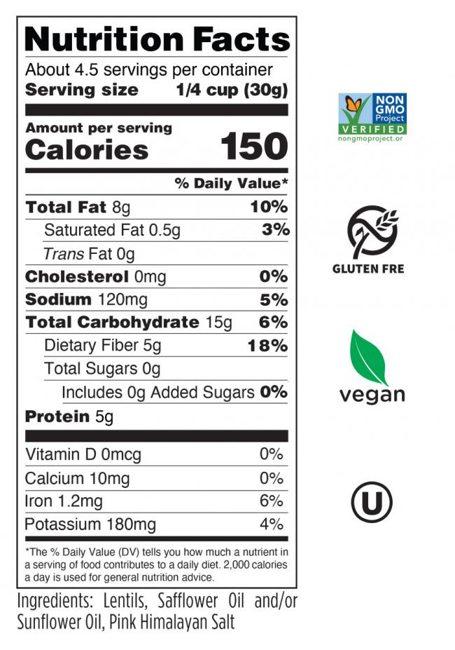 Pink Himalayan Salt Nutrition Facts