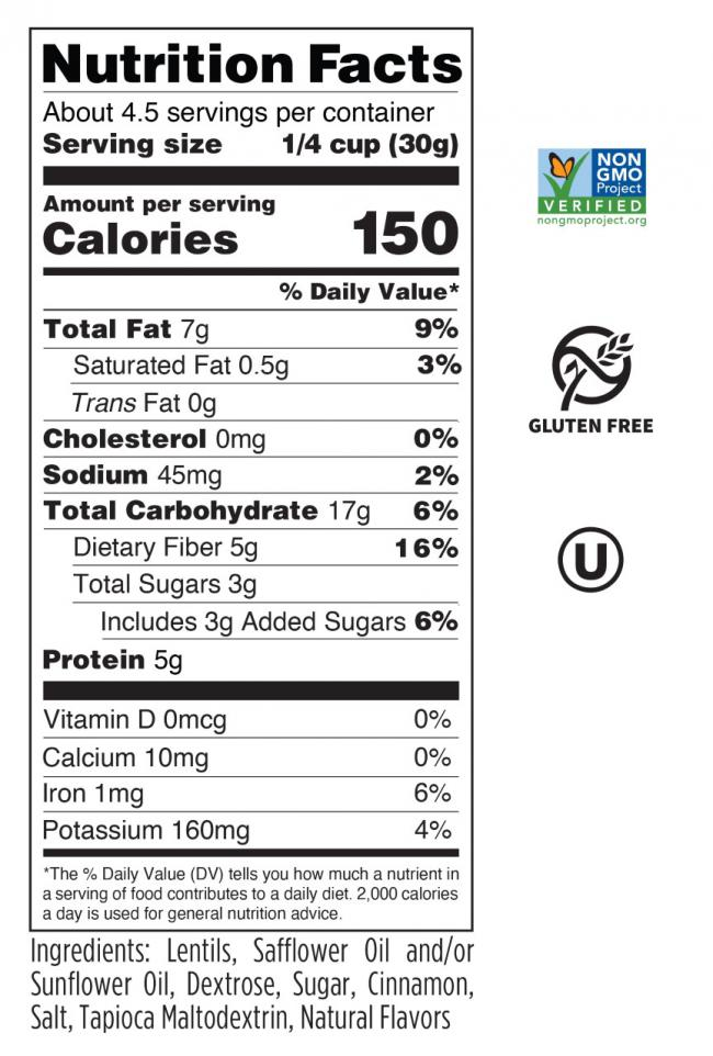 Cinnamon Sugar Nutrition Facts