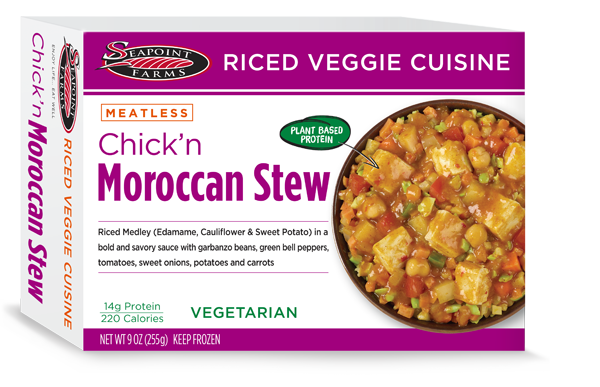 Chick'n Moroccan Stew