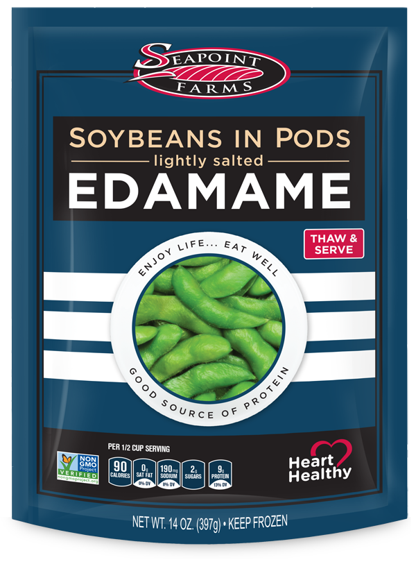 Soybeans in Pods<br> Lightly Salted