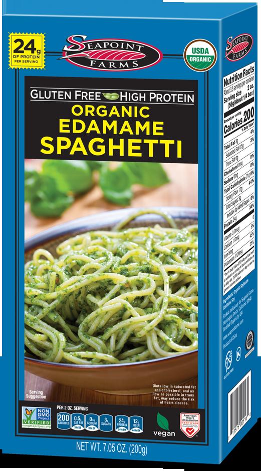 Organic<br> Edamame Spaghetti